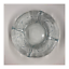 "thumbnail 5 - Crystal Ornamental Floral Clear Glass Ashtray 6"" Vintage Heavyweight (Set of 3)"