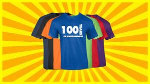 Image Is Loading 100th Birthday T Shirt Happy