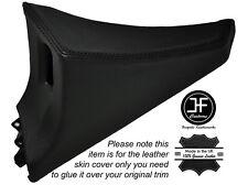 BLACK Stitch 1x Passeggero Porta Interruttore Pannello copertura della pelle si adatta TOYOTA SUPRA MK4