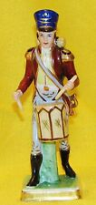 CAPODIMONTE : SOLDAT DE COLLECTION  STATUETTE FIGURINE PORCELAINE POLYCHROME