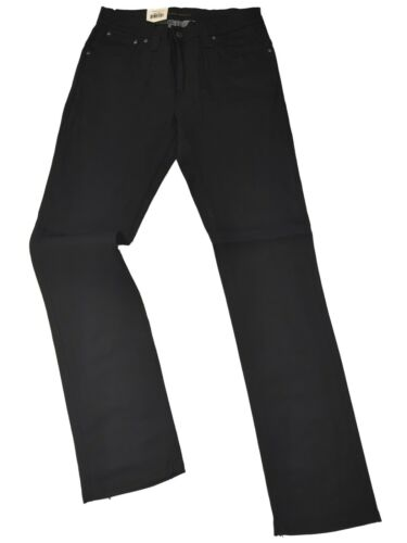 "Nudie Jeans Thin Finn Dry Noir enduit /""rare objet/"""