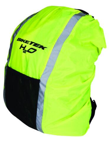 NEW CYCLE HI-VIS SAFETY REFLECTIVE WATERPROOF RUCKSACK PACKBACK HUMP COVER