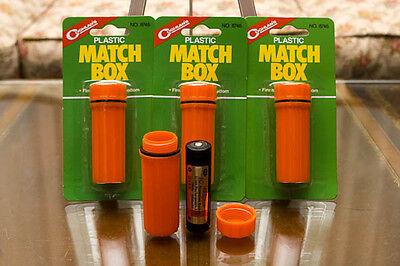 Coghlan's Plastic Waterproof Match Box