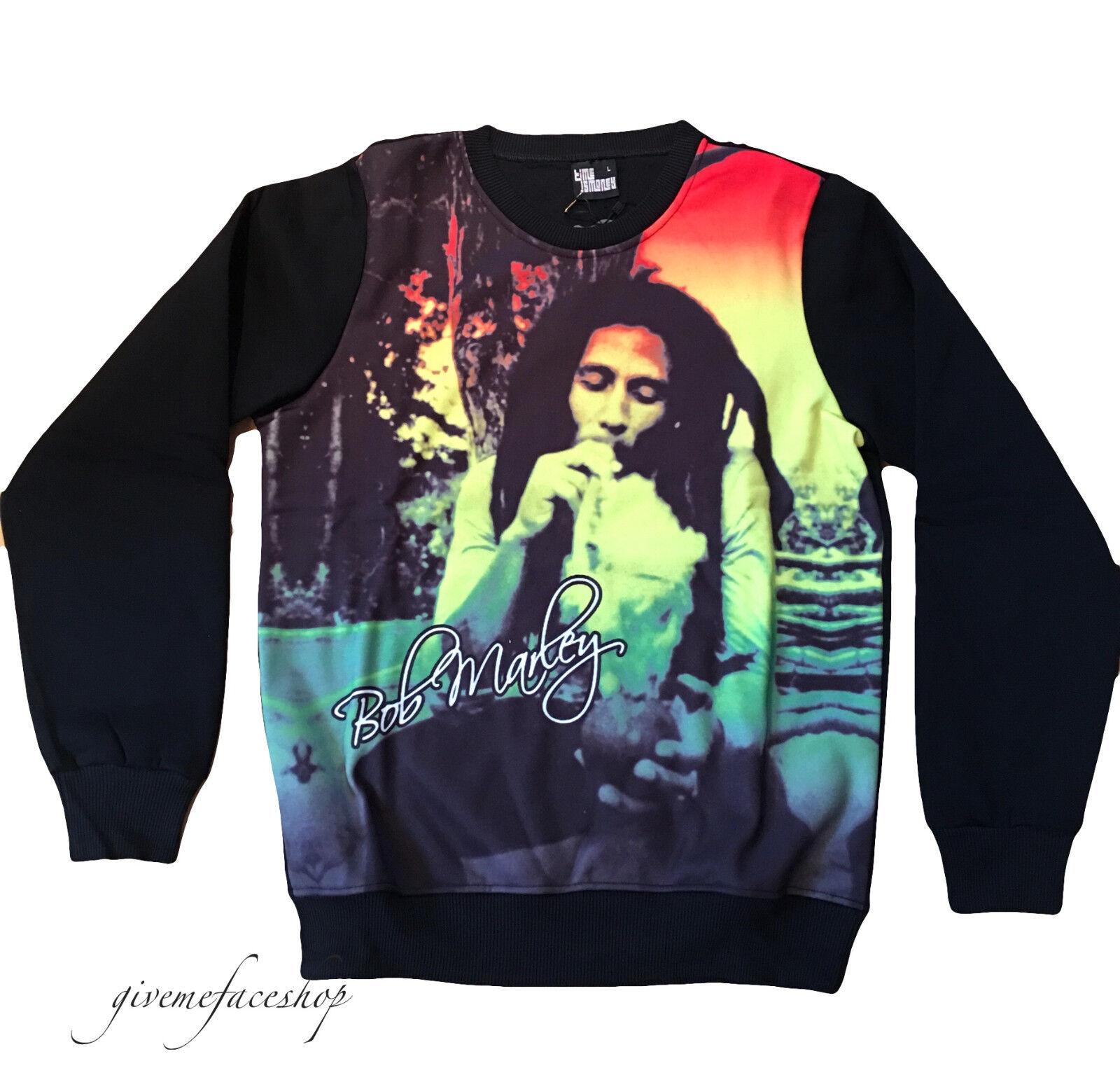 Bob Marley Pull par Time Hop Is Money, Danse de Rue Hip Hop Time Haut, Tricot, Sweats 741155