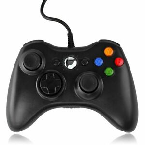Wired-XBOX-360-Controller-USB-Joypad-fuer-Microsoft-PC-Windows-7-Game-pads