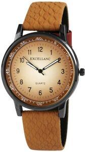 Damen-Uhr-Braun-Silber-Titan-Look-Analog-Quarz-Metall-w-100000300072500