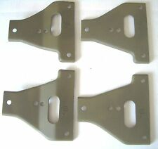 """Military Jeep, Willys MB, Ford GPW, Gusset, Set of 4, A1127-F,  """"F"""" Marked G503"""