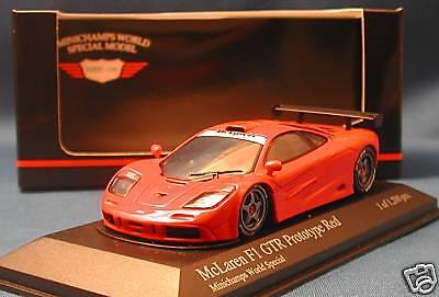 McLaren F1 GTR Prototype rot Minichamps world Special
