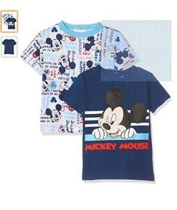 82af9ee14aff Disney Baby Boys  Clothing x2 T-Shirt Set - Age 6 Months Brand New ...