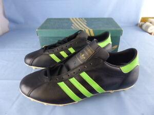 Détails sur ADIDAS BRAZIL anciennes chaussures de football VINTAGE années 70 !!! NEUVES T 45