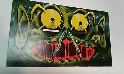 Vintage! Rare 1967 Topps Nutty BLOCKHEADS The Martian monster Halloween Mask Mad