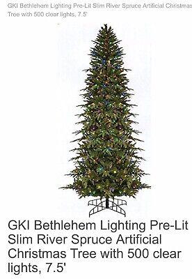 Green River Spruce Slim Tree Pre Lit