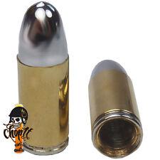 Ventilkappen Patronen Bullets Metallausführung für Chopper Streetfighter