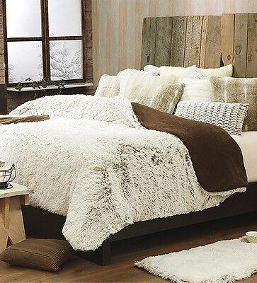 New Capuchino Brown Microplush Cozy Warm Fleece Blanket Throw Cobertor 1 PC