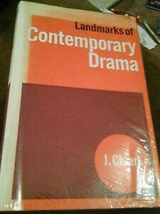 Book-Hardback-Landmarks-of-contemporary-drama-1965-J-Chiari