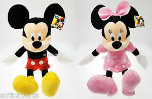 Peluche-Topolino-Minnie-Originali-Disney-Tutte-leMisure-Disponibili-Minni-Mickey
