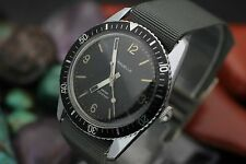 C. 1975 Vintage CARAVELLE Hand Wind Stainless Steel Men's Diver Watch
