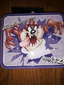 Looney-Tunes-Tazmanian-Devil-Mini-Tin-Lunch-Box-TAZ-90s-Nostalgia-Collectible
