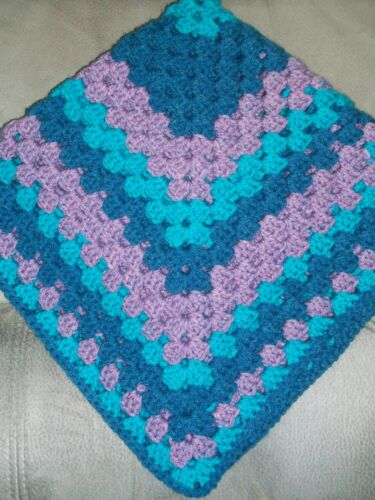 NEW HANDMADE Crochet Baby//Toddler Blanket Afghan Color Choice