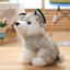 Realistic-Husky-Dog-Plush-Toy-Stuffed-Animal-Soft-Wolf-Pet-Doll-Cute-Kid-Gift-7 thumbnail 3