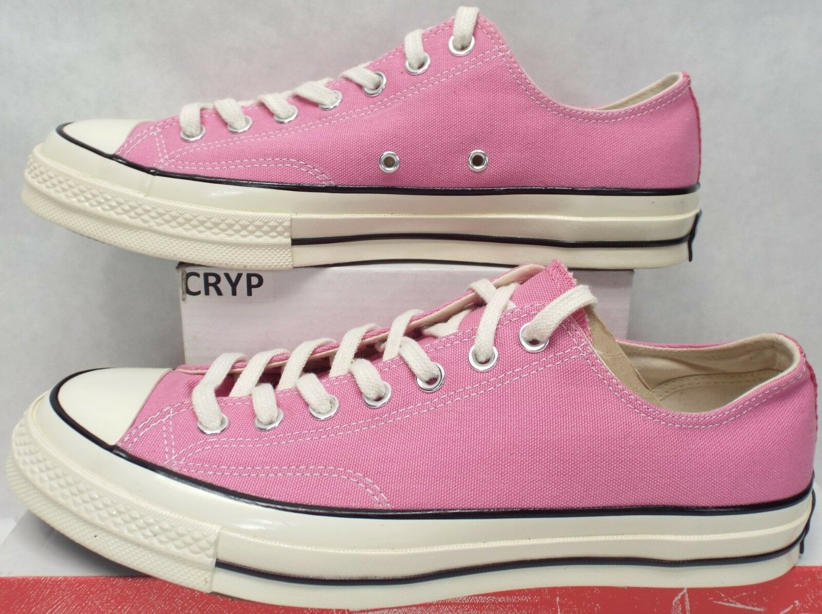 New Mens 11 Converse Chuck Taylor CTAS 70 OX Pink Chateau Canvas  80 157299C