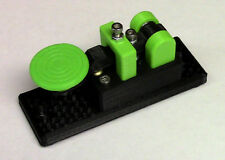 NEW Lightweight Micro Green Morse Code Telegraph Key MADE IN USA