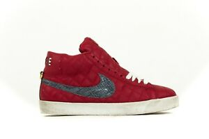 reputable site 1dae3 4292b Image is loading MEN-039-S-NIKE-BLAZER-SB-SUPREME-RED-