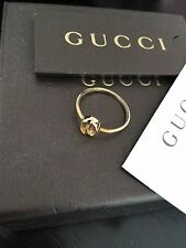 Gucci 18k Ring Made In Italy