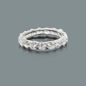 Diamant-Ring-Eternity-Memory-Diamanten-4-50-ct-18-Karat-750er-Weissgold-Neu