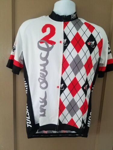 NWT Mens DNA CYCLING Short Sleeve Jersey tulsa tough Sz XL Made In Italy