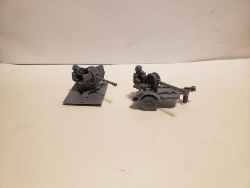 1//72 1:100 1:200 1//87 1//48 1//56 flak 36 trailer x3 Scale WW II Model Tank