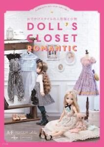 Doll-039-s-Closet-Romantic-de-poupees-vetements-a-coudre-Book-Japan