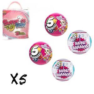 5 Surprise Made By Zuru Mini Brands Balls Pink 100 Real