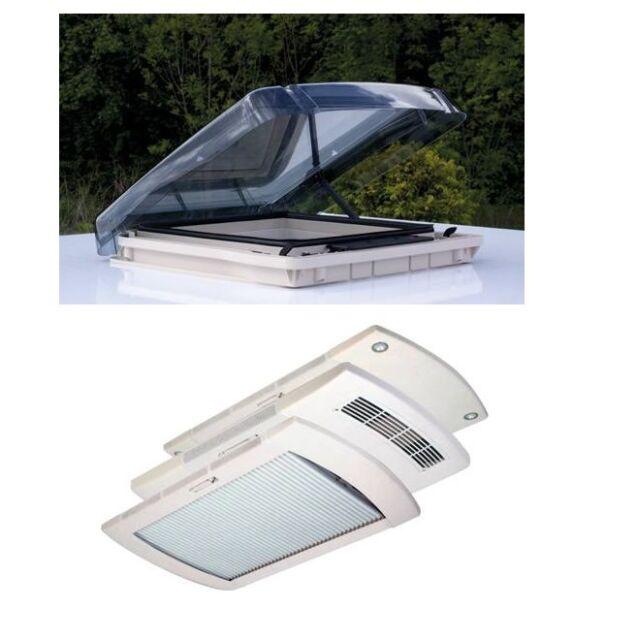 REMItop vario II 40/40 Dachluke Fenster Klar Wohnwagen Wohnmobile Remis 90380