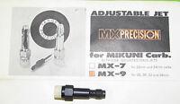 Mx Precision Mikuni Adjustable Jet 26, 30, 32 & 34 Mm Carburetors P/n Mx-9