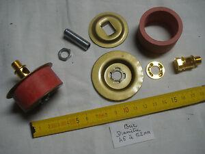 potiche 1 adaptateur 70 mm extensible pour vase en caoutchouc et laiton