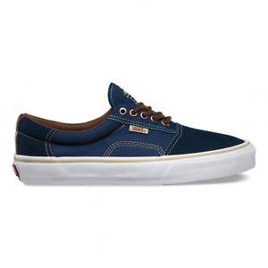 5d6404d4d2 Vans Rowley Solos Dre Dress Blues Brown Men s 7.5 Navy Skate Shoes ...