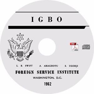 Learn To Speak Igbo Language Course Mp3 Audio Pdf Text On Cd Ebay