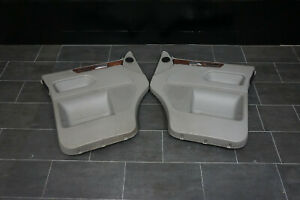 Original-VW-T5-Multivan-Caravelle-Door-Panel-Front-Left-Right-Grey-Leather