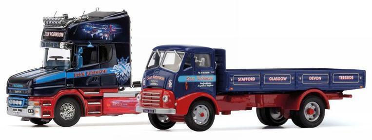 CORGI cc99204 - 1 50 SCALA STAN Robinson COMMEMORATIVO Cabina & Camion Set