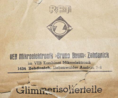 NOS 20 Stück TO-126 Glimmerscheibe Lagerware unbenutzt Isolierscheibe