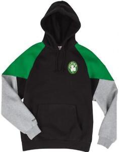 Ness Trading Mitchell Celtics Felpa Con Verde Boston Blocco Cappuccio Nero amp; wYr5Rwq
