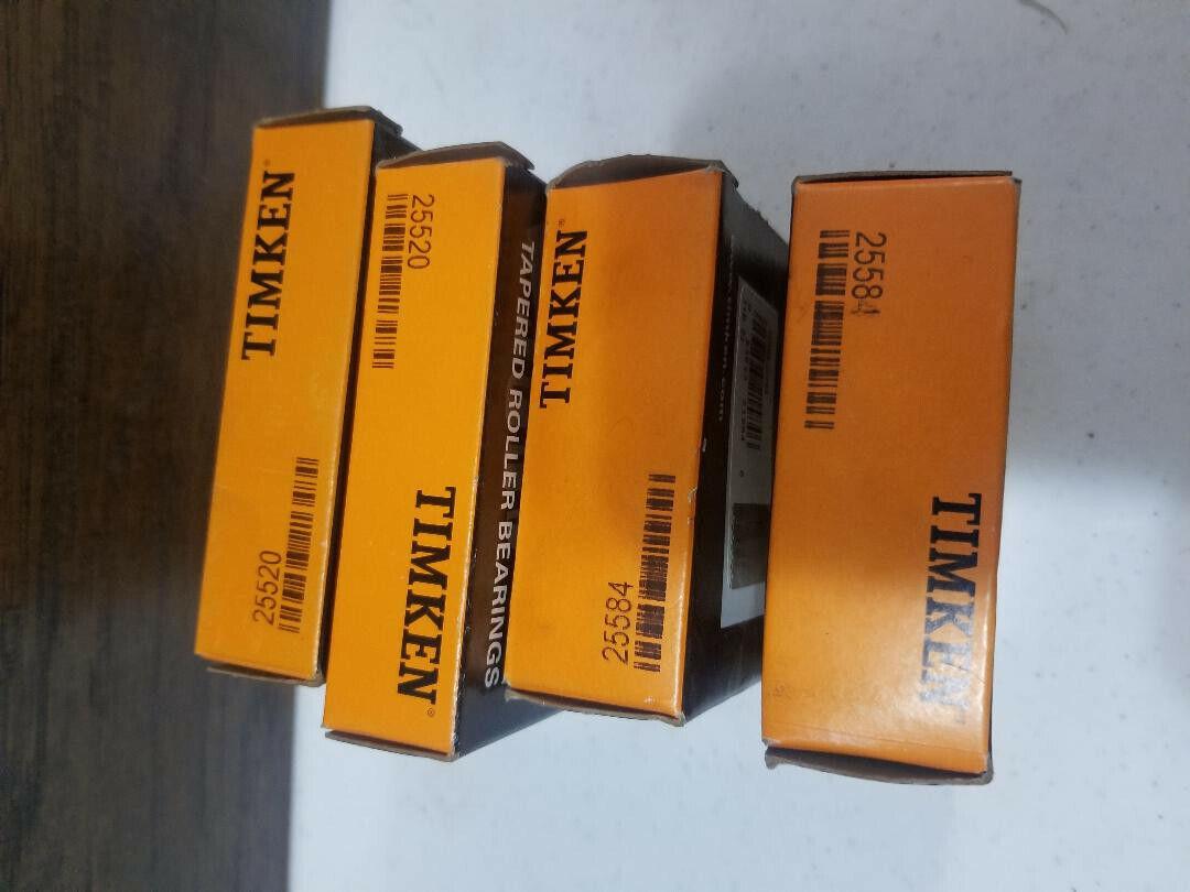 25590//25520 Tapered Roller Bearing Set 54