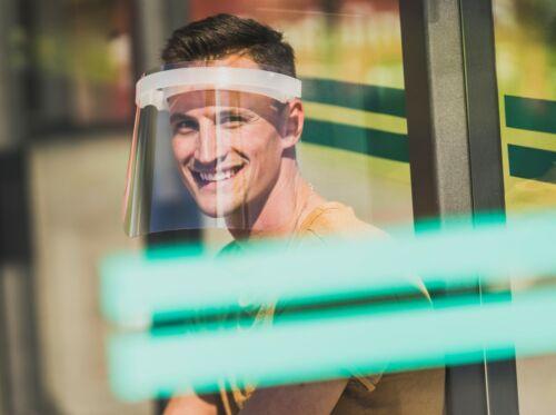 Gesichtsschutz Visier Schirm Gesichts Schutzschild Spuckschutz Gesichtsschild