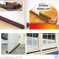 3pcs Twin Door Guard Draft Stopper Energy Save Protector Window Doorstopper