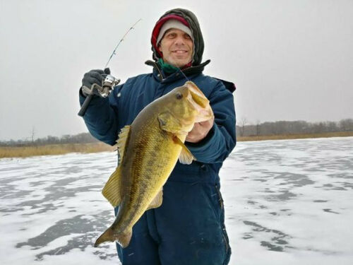 3 ORANGE ICE FISHING AMAZING JIGS BEST SELLING COLOR FOR LAKE ERIE JUMBO PERCH