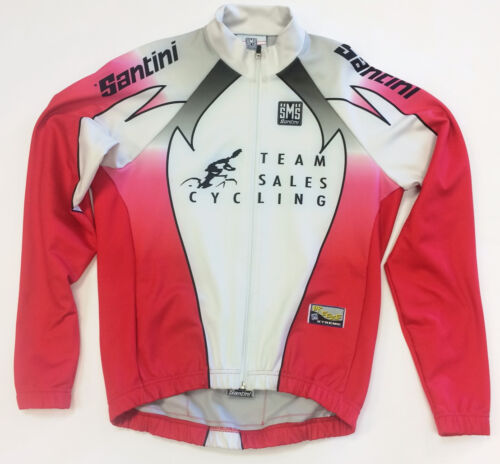 /'Team Sales Cycling/' Windproof CYCLING JACKET made in Italy by Santini