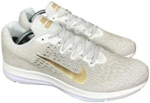Running Shoes Phantom Gold White