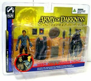 Ensemble de 2 figurines Scout Action Army & Darkness Hero