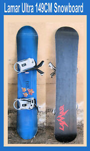 Lamar-Snowboard-Ultra-Blue-w-Bindings-149-CM-in-San-Diego